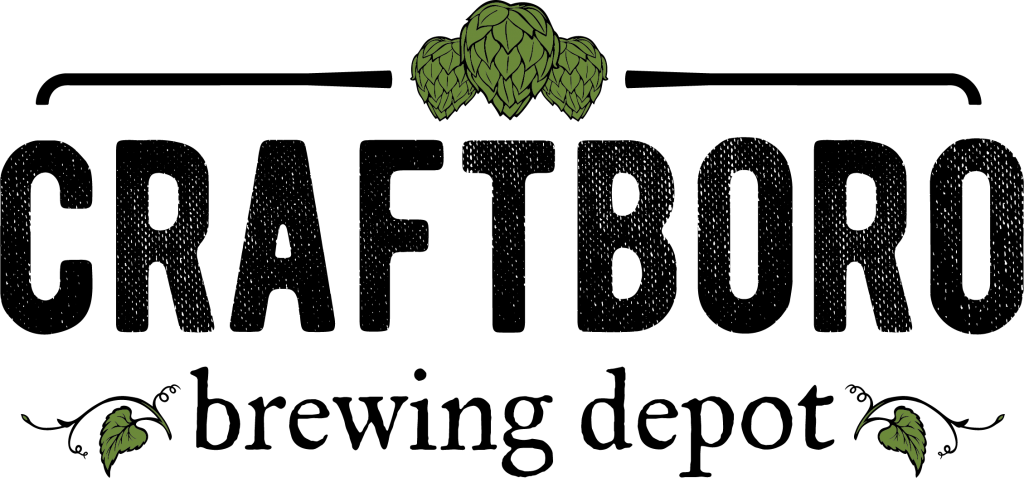 craftboro brewing logo, a family friendly carrboro brewery